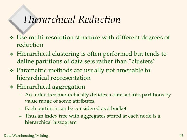 Hierarchical Reduction