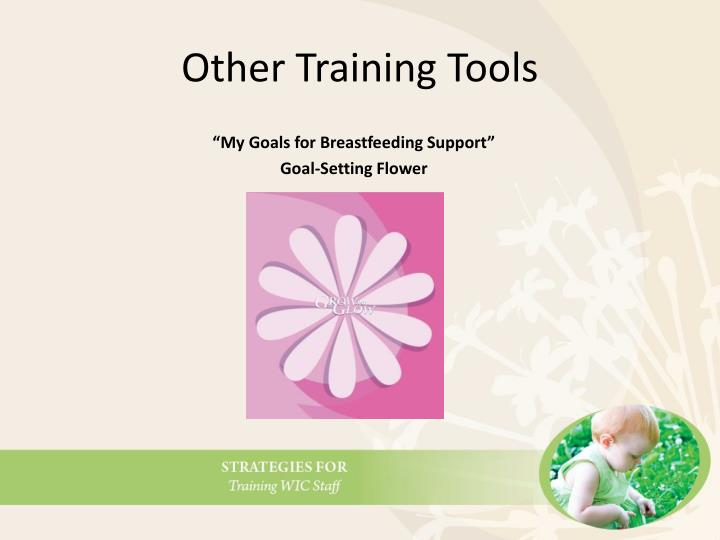 Other Training Tools