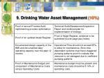 9 drinking water asset management 10