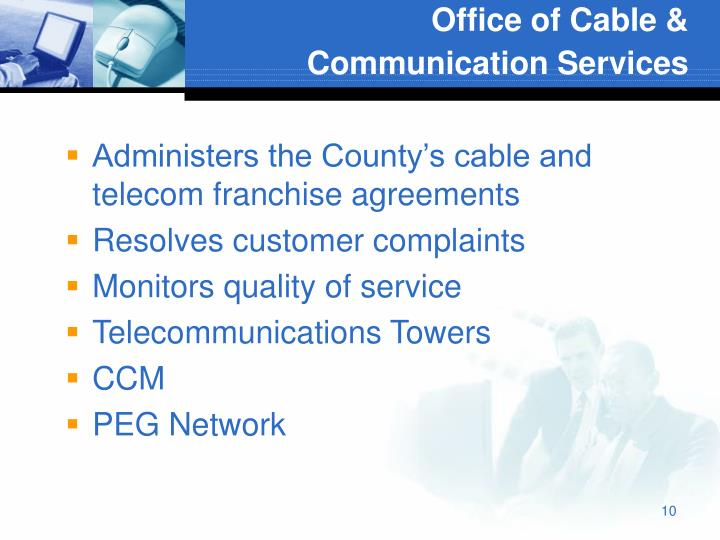 Office of Cable & Communication Services