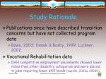 study rationale2