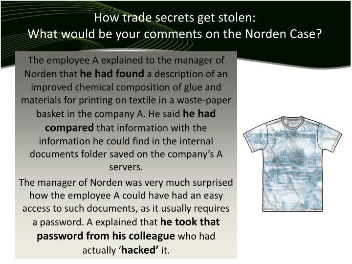 How trade secrets get stolen:
