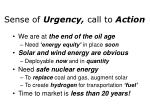 sense of urgency call to action