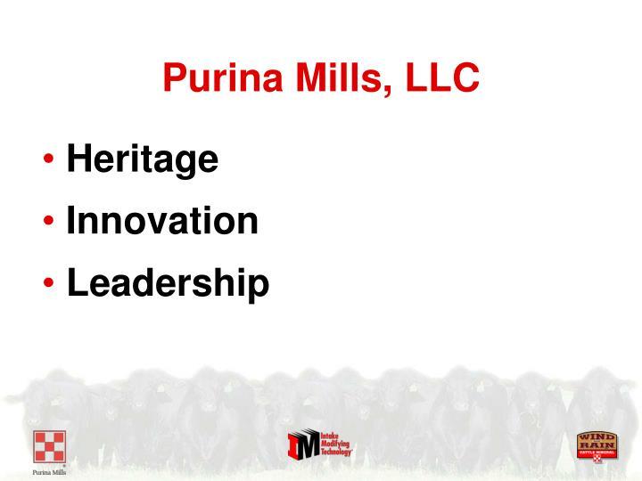 Purina Mills, LLC