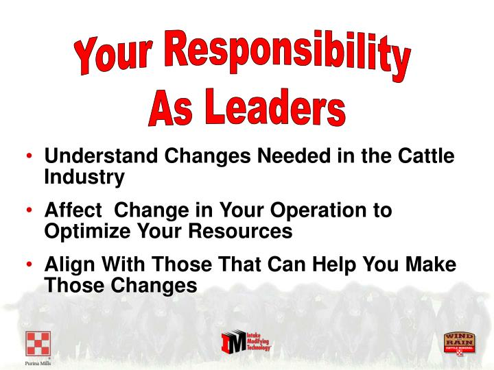Your Responsibility