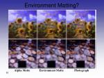 environment matting1