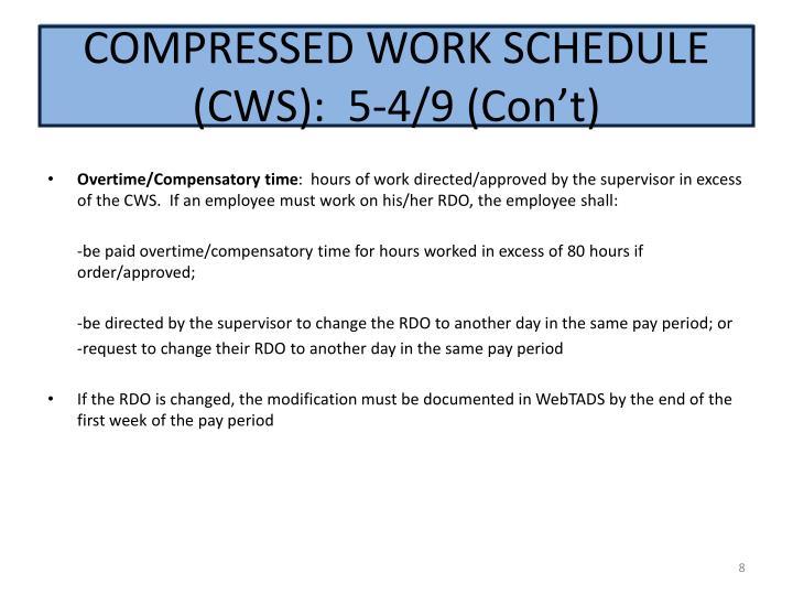 Compressed:  5-4/9 (