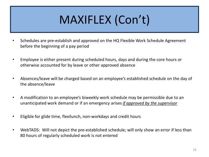 MAXIFLEX (