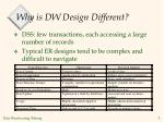 why is dw design different