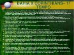 bahia x corinthians 1 tempo