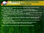 bahia x corinthians preview
