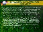 cruzeiro x flamengo preview