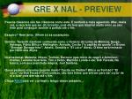 gre x nal preview