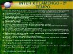 inter x flamengo 2 tempo