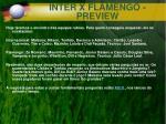 inter x flamengo preview