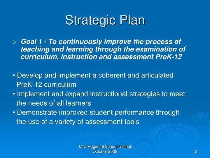 Strategic plan1
