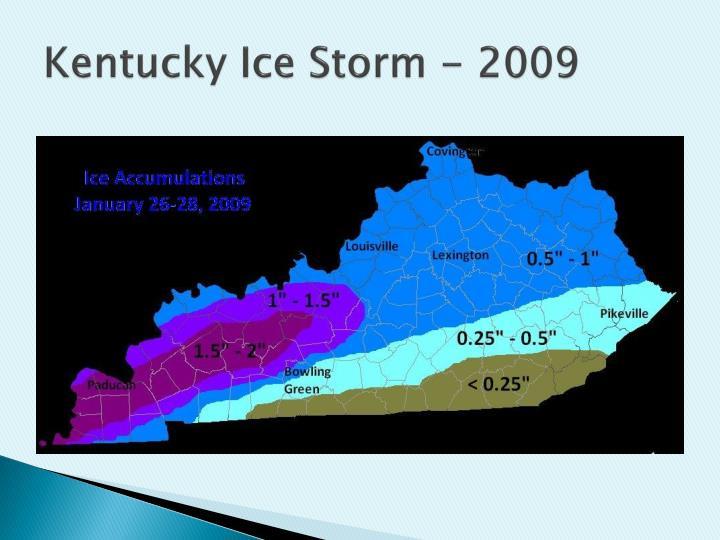 Kentucky Ice Storm - 2009