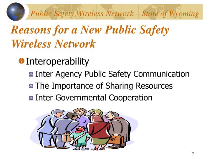 Reasons for a New Public Safety Wireless Network