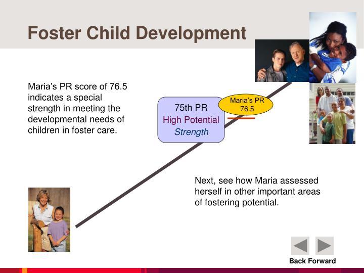 Foster Child Development