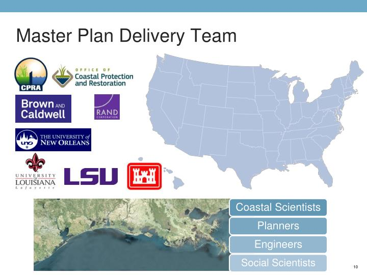 Master Plan Delivery Team