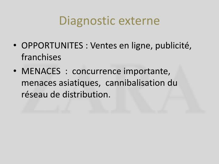 Diagnostic externe