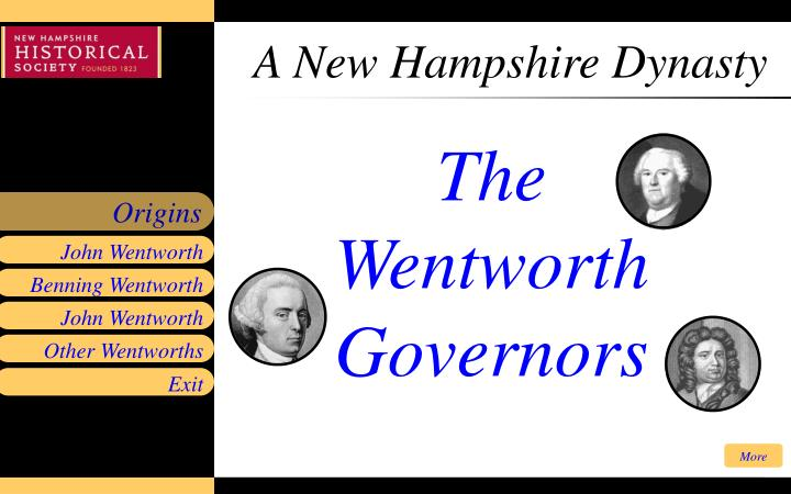 A new hampshire dynasty