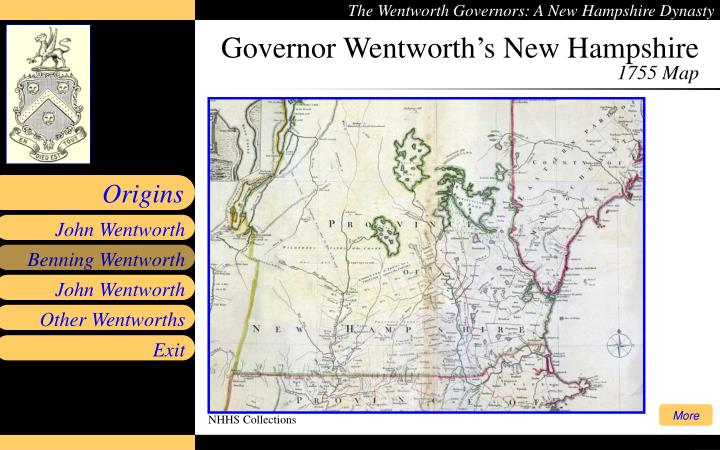 Governor Wentworth's New Hampshire