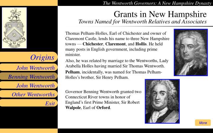 Grants in New Hampshire