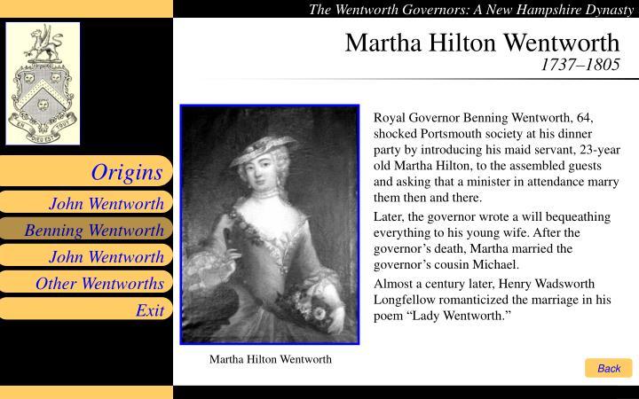 Martha Hilton Wentworth