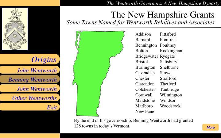 The New Hampshire Grants