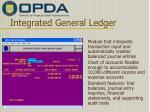 integrated general ledger