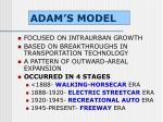 adam s model