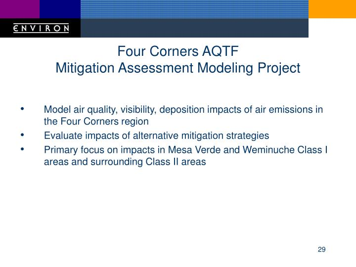 Four Corners AQTF