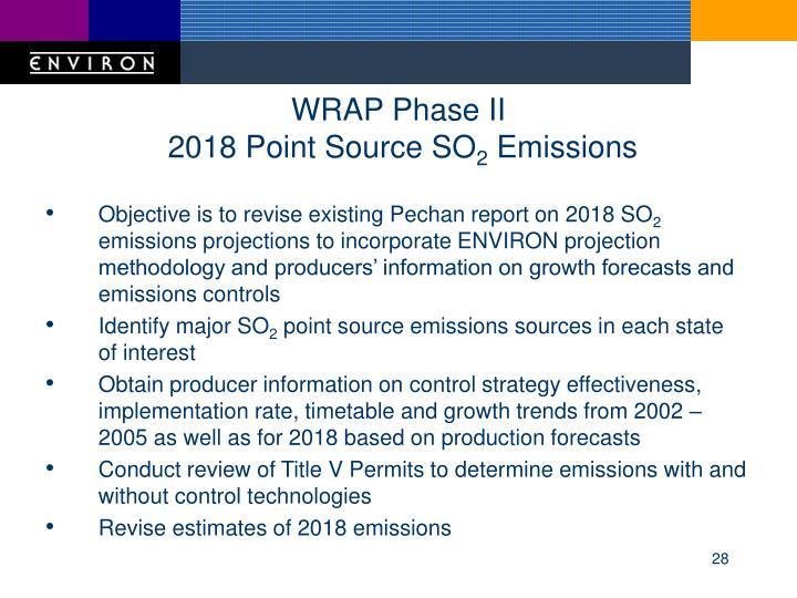 WRAP Phase II