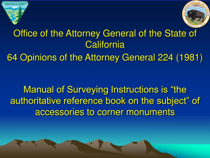 Office of the Attorney General of the State of California
