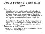 dana corporation 351 nlrb no 28 2007