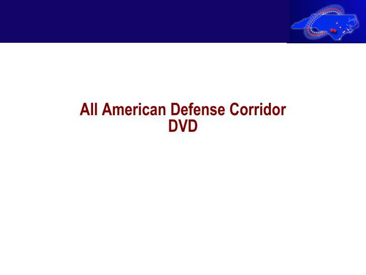 All American Defense Corridor