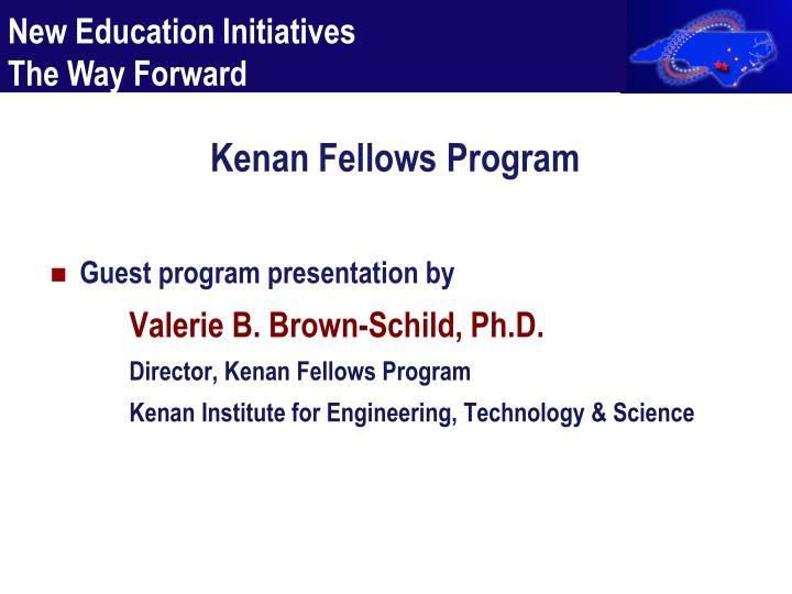 Kenan Fellows Program