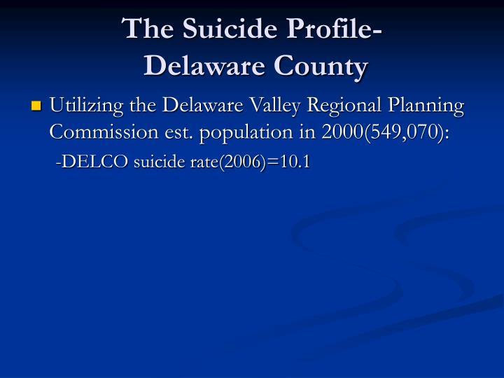 The Suicide Profile-