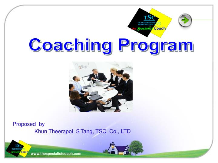 Proposed by khun theerapol s tang tsc co ltd