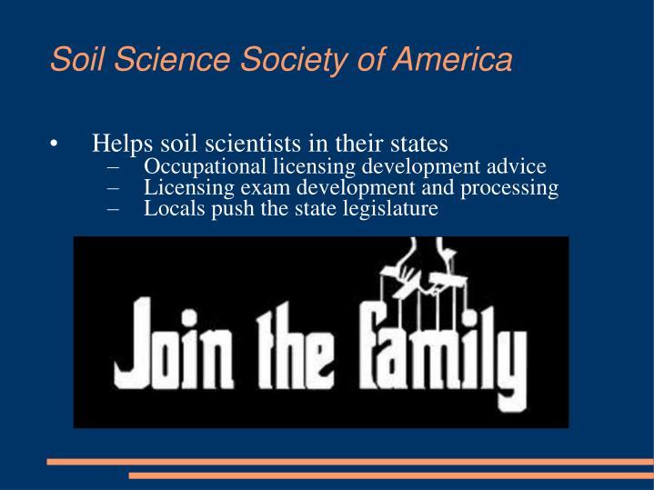 Soil Science Society of America