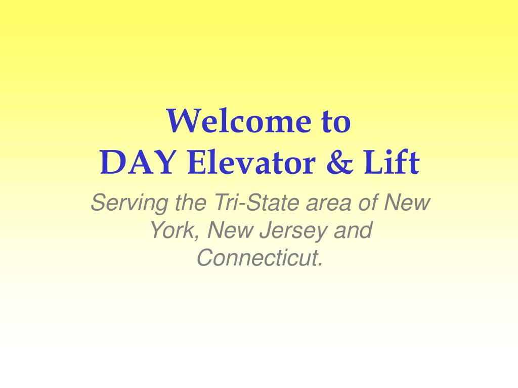 welcome to day elevator lift l.