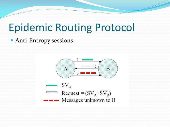 Epidemic Routing Protocol