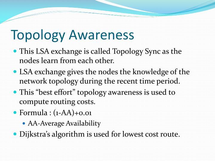 Topology Awareness
