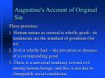 augustine s account of original sin