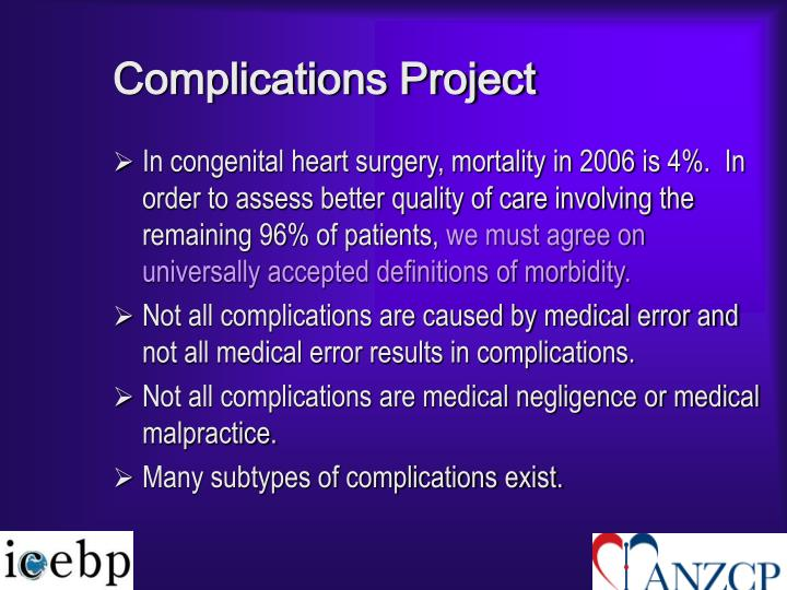 Complications Project