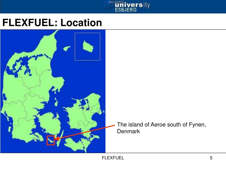 The island of Aeroe south of Fynen, Denmark