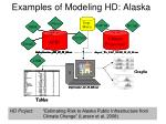 examples of modeling hd alaska