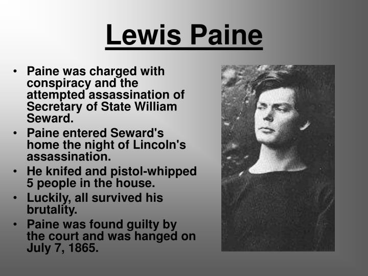 Lewis Paine