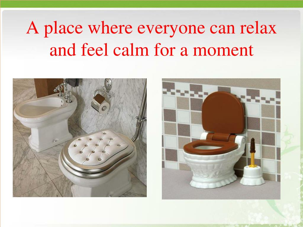 A place where everyone can relax and feel calm for a moment